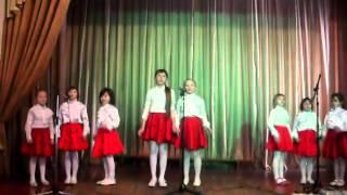Мир похож на цветной луг ансамбль Школяры