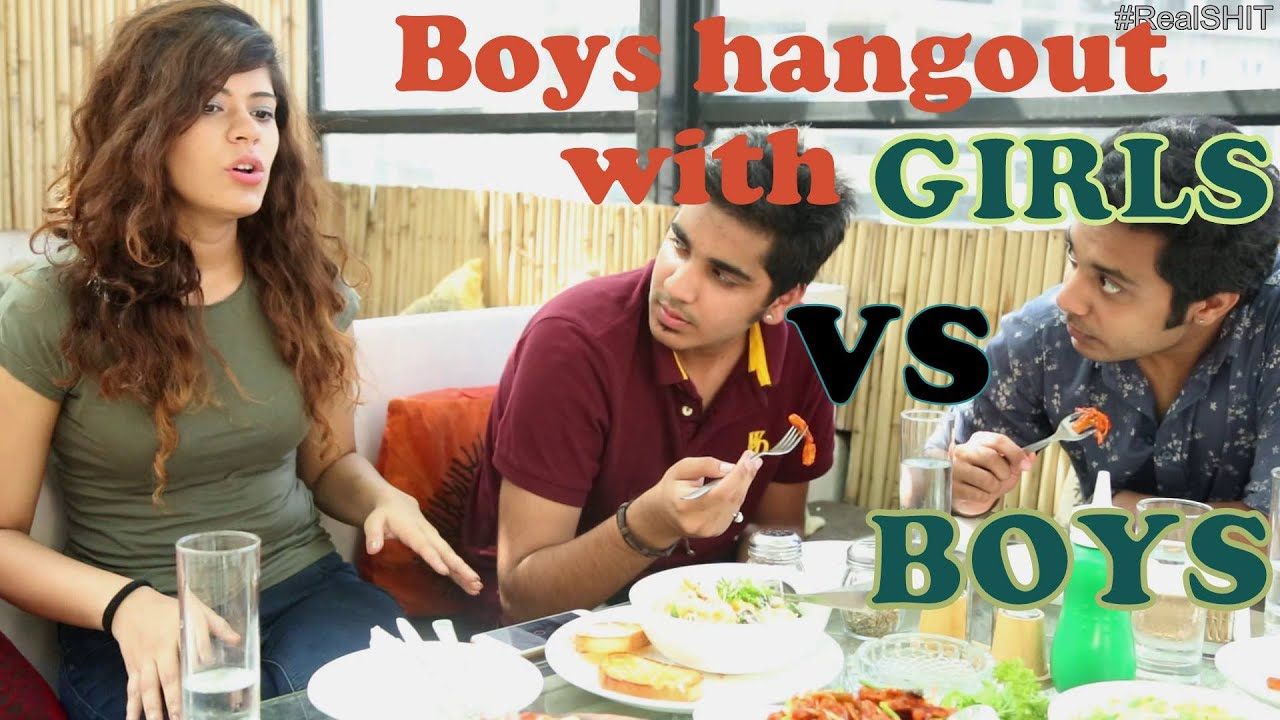 realshit when boys hangout with boys vs girls youtube. Black Bedroom Furniture Sets. Home Design Ideas