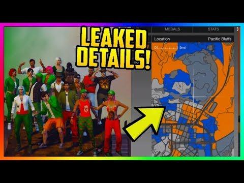 GTA 5 NEW DLC LEAKS - GANG Territory Update: The FINAL GTA Online Update, RARE Crates & MORE Leaked!