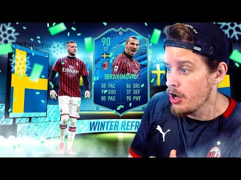 THIS CARD IS EXTINCT! 90 WINTER REFRESH IBRAHIMOVIC PLAYER REVIEW! FIFA 20 Ultimate Team