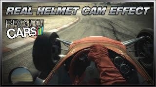 Project CARS - Real Helmet Cam Effect (Lotus 49 Cosworth