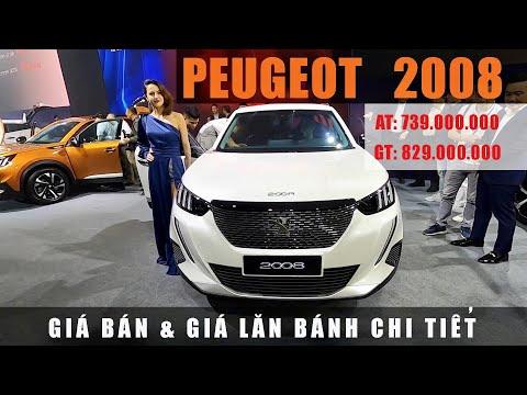Giá Lăn Bánh Peugeot 2008 - Chi tiết khuyến mãi!