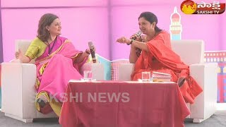 Face To Face With Senior Journalist Sagarika Ghose   Sakshi TV