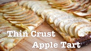 Apple Galette -thin Crust Apple Pie Recipe -- Parisian Kitchen