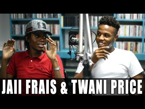T'Wani Price & Jaii Frais talk poking fun at Alkaline + pushing limits