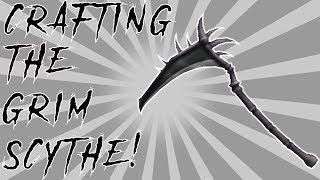 CRAFTING THE GRIM SCYTHE! (Roblox Assassin)