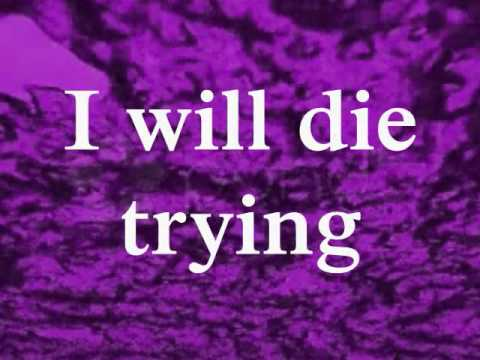 Art Of Dying- Die Trying (Lyrics)