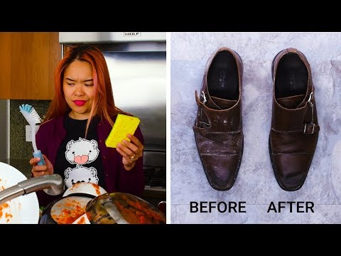 10 Odd But Effective Cleaning Hacks! | DIY Cleaning and Organization Hacks by Blossom