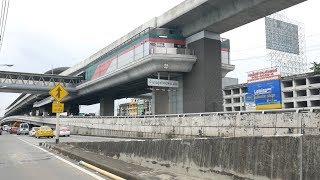 【4K】(2/8) MRT purple line (Sam Yaek Bang Yai Station to Bang Rak Yai Station)