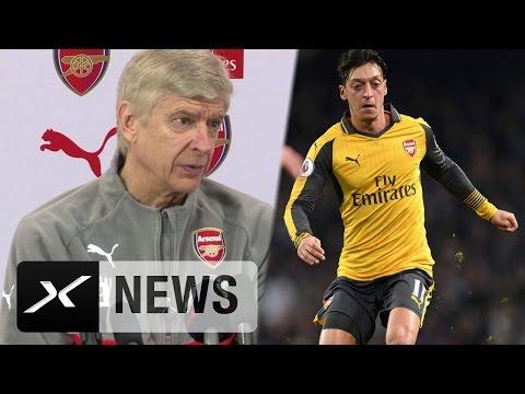 "Arsene Wenger: ""Mesut Özil arbeitet härter, als man denkt"" | FC Arsenal - West Bromwich Albion"