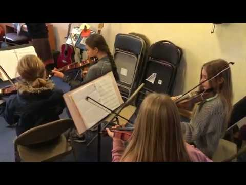 Davis Waldorf School | Winter Concert Rehearsal 2019