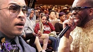 Download T.I. Felt Pastor Preyed On His Pockets During Sunday Service + Jamal Bryant Denies It Mp3 and Videos
