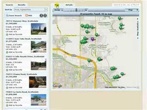 Phoenix AZ New Home Listings by Zip Code Tutorial