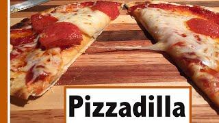 Make A Pizzadilla | Half Quesadilla, Half Pizza