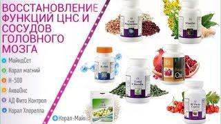 Новые продукты. Восстановление нервной системы и сосудов мозга./ О.Бутакова
