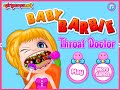 Play Barbie Games For Free Barbie Baby Throat Doctor Games