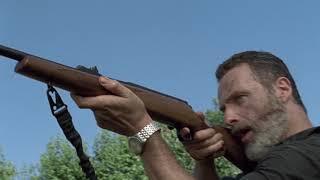 Аарон теряет руку. Ходячие мертвецы 9 сезон 2 серия.