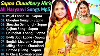 Sapna Chaudhary All New Songs 2021   New Haryanvi Songs Jukebox 2021   Sapna Chaudhary Hit Song 2021