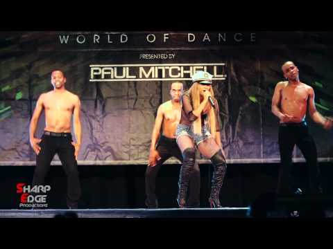Kat Deluna - drop it low LIVE  | World Of Dance New York 2011 | Sharp Edge Events