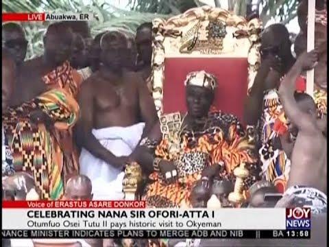 Celebrating Nana Sir Ofori-Atta I - The Pulse on JoyNews (23-8-18)