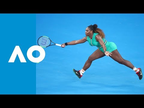 Incredible Game Goes Serena Williams' Way V Simona Halep (4R) | Australian Open 2019