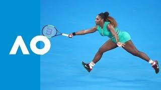 Incredible game goes Serena Williams' way v Simona Halep (4R) | Australian Open 2019