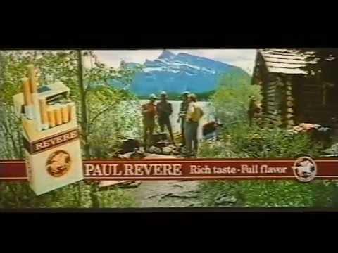 Paul Revere cigarette commercial - Alaska