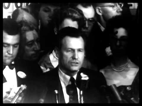 Rockefeller elected Governor of New York 1958