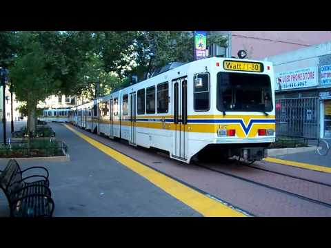 Sacramento RT Blue Line @ 7th and K