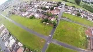 Perseguição de Helicóptero no Bairro Morumbi  - Uberlândia / MG no dia 07 de Março de 2014
