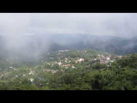 Landscape from Mines View Park in Baguio Philippines