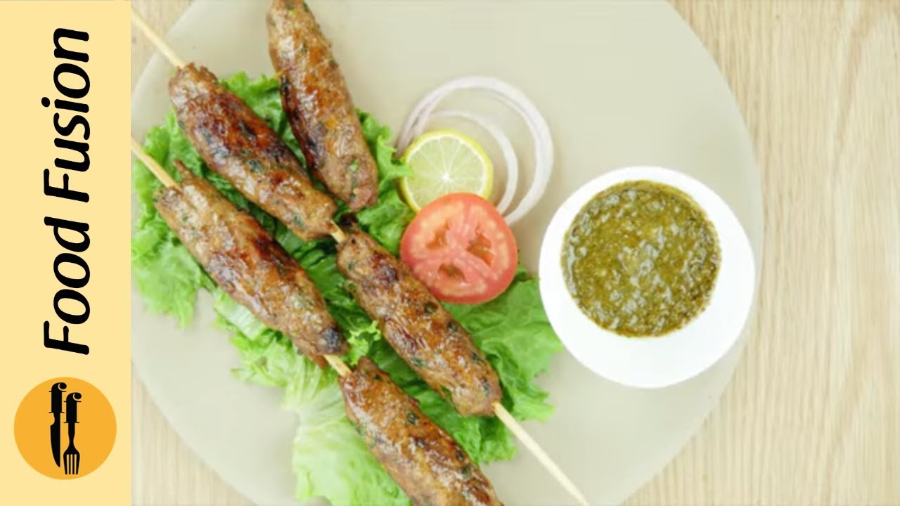 Seekh Kabab Recipe By Food Fusion
