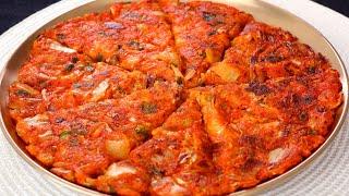 Kimchi Pancake (Kimchijeon: 김치전)