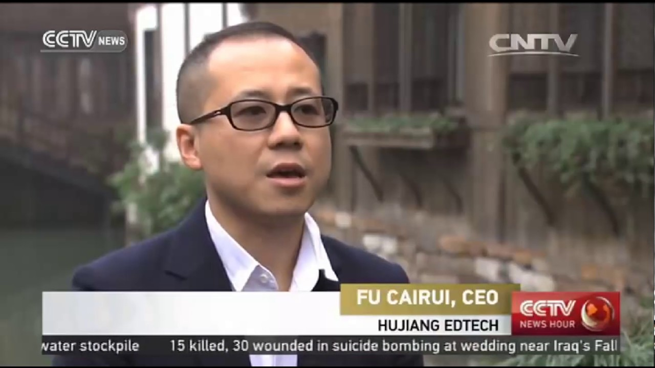 CCTV-NEWS Interview for Founder of China's EdTech Unicorn ...