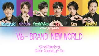 Watch V6 Brand New World video