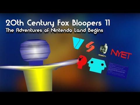 20th Century Fox Bloopers 11: The Adventures of Nintendo Land Begins