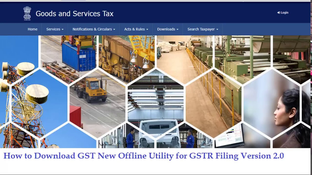 Download the New GST Offline Tool Version 2 0