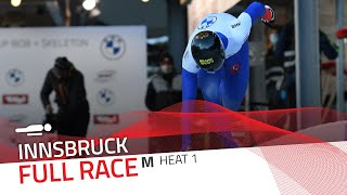 Innsbruck | BMW IBSF World Cup 2020/2021 - Men's Skeleton Heat 1 | IBSF Official