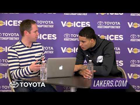 Lakers Voices: Kyle Kuzma