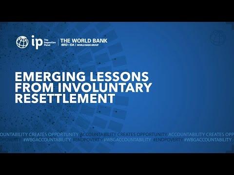 Emerging Lessons Series   Involuntary Resettlement 12 April 2016