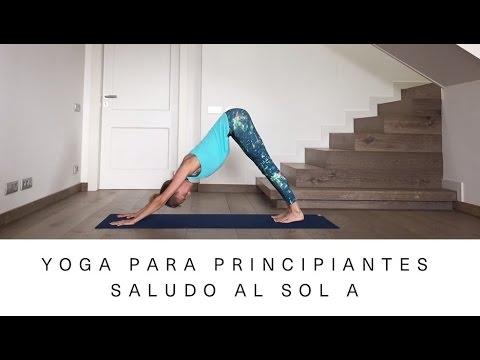 Yoga Ashtanga para principiantes |Saludo al Sol A |Vanesa Lorenzo