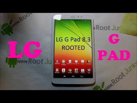 How to Root the LG G Pad 8.3