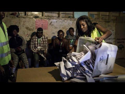 Kenya: Opposition candidate Raila Odinga accuses Uhuru Kenyatta's camp of fraud