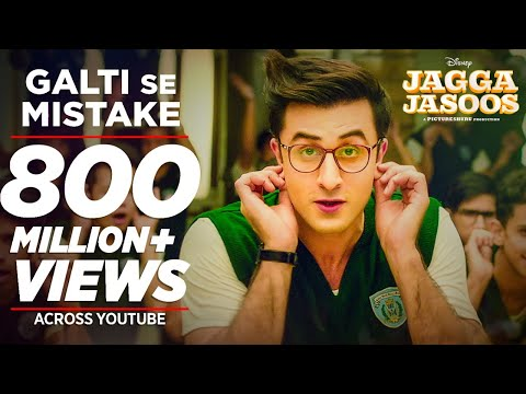 Jagga Jasoos: Galti Se Mistake Video Song | Ranbir, Katrina | Arijit, Amit | Pritam, Amitabh B