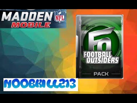 Madden Mobile Football Outsiders!!