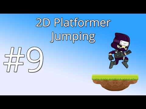 9. Unity 5 tutorial for beginners: 2D Platformer - Jumping