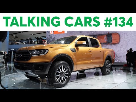 2018 Detroit Auto Show | Talking Cars with Consumer Reports #134