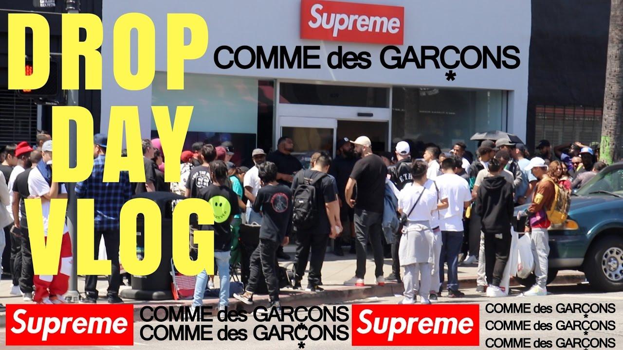 Download SUPREME x CDG NIGHT 4 & DROP DAY VLOG