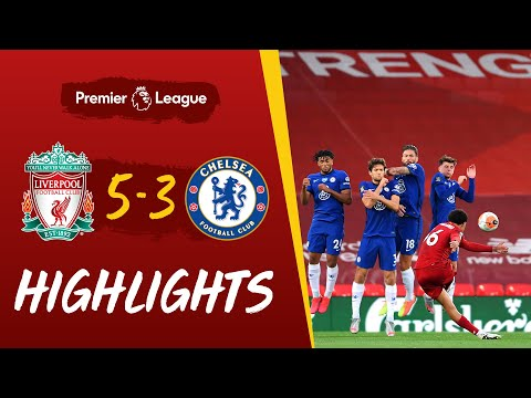 Highlights: Liverpool 5-3 Chelsea | Eight-goal thriller before the trophy lift