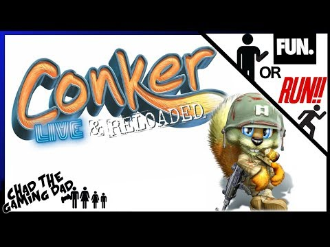 Conker: Live And Reloaded | REVIEW | Fun or RUN! | Chad The